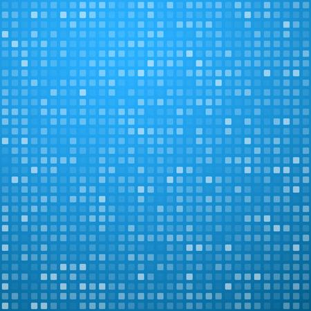 motif de la technologie composée de carrés bleus. Vecteur de fond.