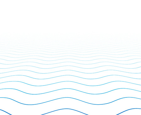 spots: Perspective blue and white background. Wavy surface. Vector illustration. Illustration