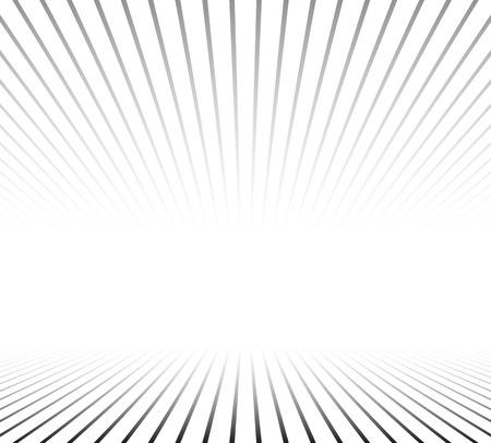 perspektiv: Lines perspective background. Vector illustration. Illustration