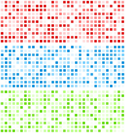 mosaic background: Technology squares pattern banners. Vector background.