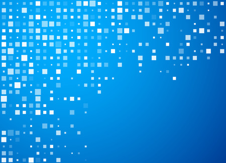 cercles technologiques motif bleu de bannière. Vecteurs