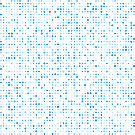 テクノロジ パターンは、青色の円で構成されます。  イラスト・ベクター素材