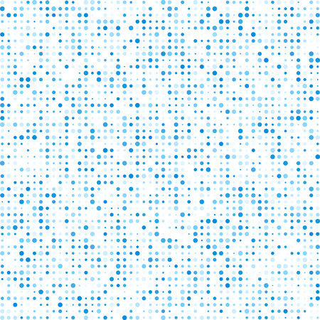 Technology pattern composed of blue Circles.