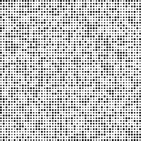 Technology pattern composed of black Circles. Vector background. Illustration