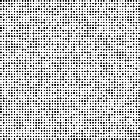 random pattern: Technology pattern composed of black Circles. Vector background. Illustration