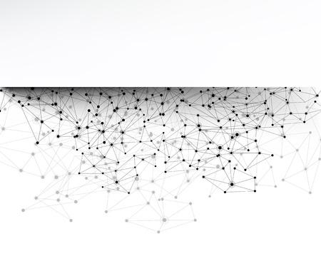 facia: Communication social strip background. Vector Illustration. Illustration
