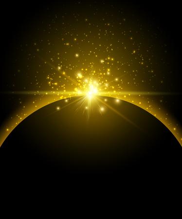 heaven: Earth planet background. Design concept. Vector Illustration.