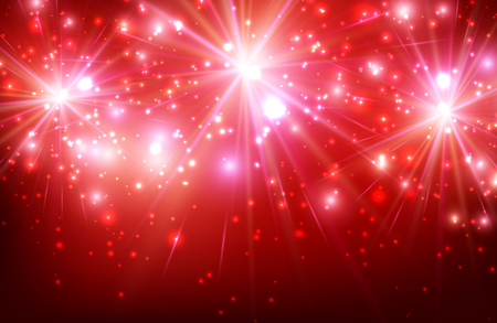 festive: Festive luminous red background