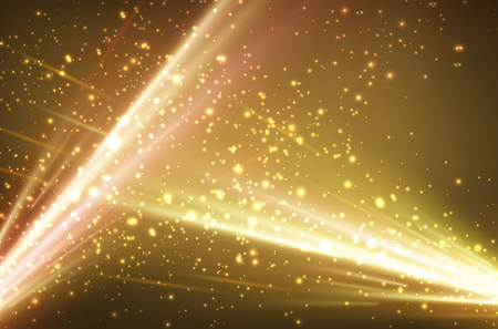 magical: Festive abstract golden background