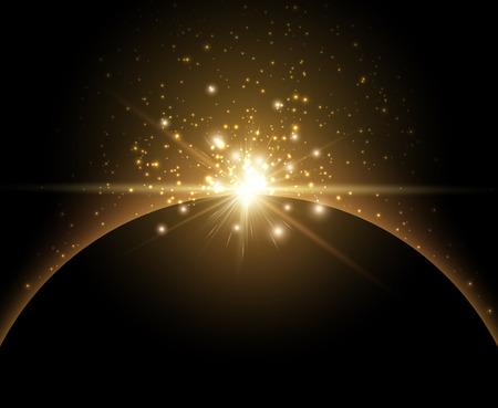 heaven: Earth planet background. Illustration