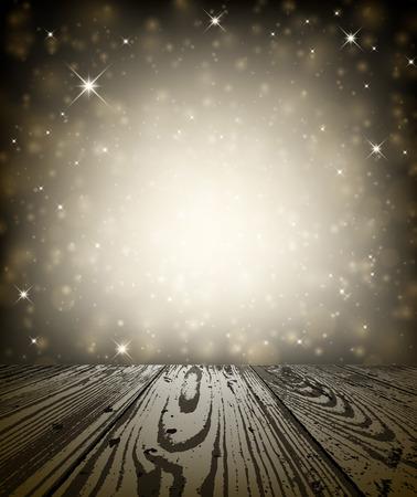 broun: Sepia shining background. Vector paper illustration.