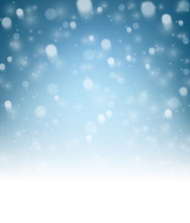 luminous: Blue luminous background. paper illustration.