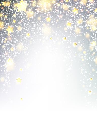festive background: Festive luminous background. Vector paper illustration.