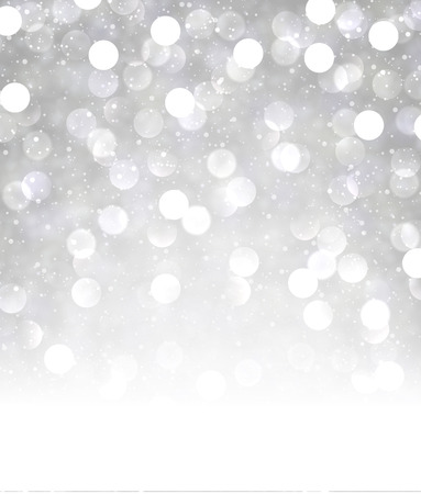 grey background: Festive shining background. Vector paper illustration.