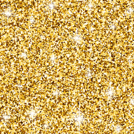 contrasty: Golden abstract background with lights. Vector illustration. Illustration