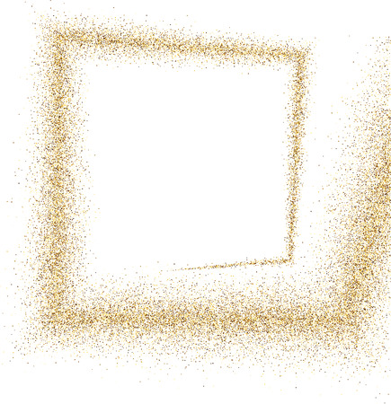 gold coast: White absrtact background with sand. Vector illustration.