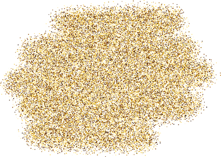 sand background: White background with sand. Vector illustration. Illustration