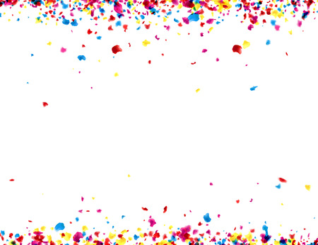 painted: Paper background with color painted drops. Vector illustration.