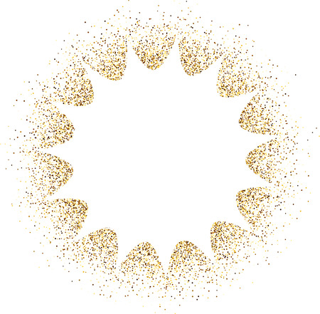 sand background: White paper absrtact background with sand. Vector illustration.