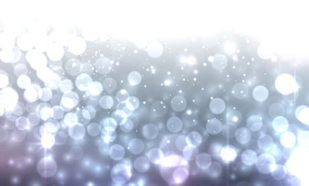 sparkling: Blue luminous background. Vector illustration.