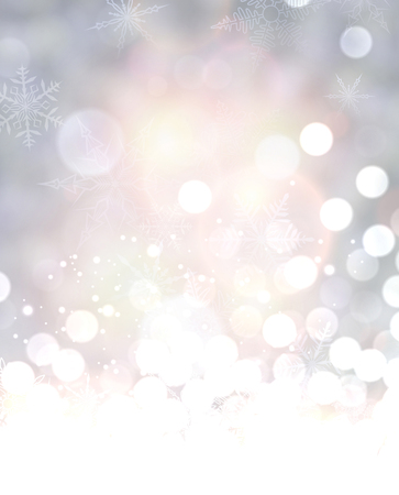 shining: Shining background with snowflakes. Vector illustration.