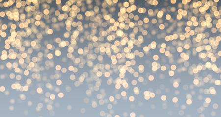 luminous: Festive gray and golden luminous background. Vector illustration. Illustration