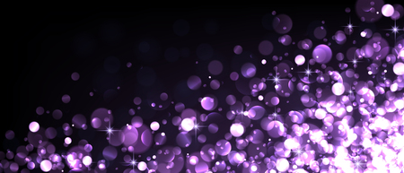 luminous: Abstract festive lilac luminous background. Vector illustration. Illustration