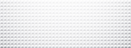textured paper: White paper triangles textured banner. Vector illustration.