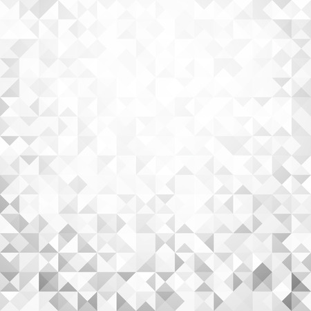 technologic: Gray geometric mosaic texture abstract background. Vector paper illustration.