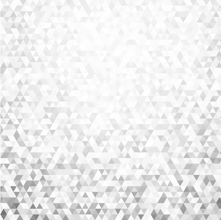 oncept: Gray geometric mosaic texture abstract background. Vector paper illustration.