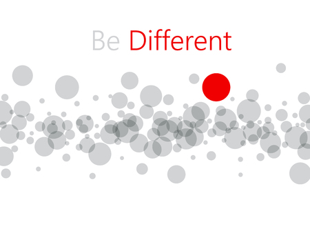 Be different abstract geometric background. Stok Fotoğraf - 85319011
