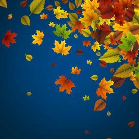 Herfst illustratie. Stock Illustratie