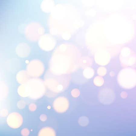 Abstract pastel color background with bubbles. Space for your text. Vector festive illustration. Illusztráció