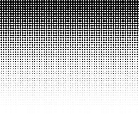 Abstract black halftone dotted background. Vector illustration. Ilustração