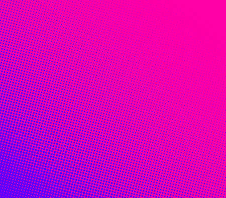Abstract pink and violet gradient halftone dotted background. Vector illustration.