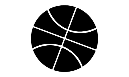 piktogramm: Pictogram - Basketball - Piktogramm Stock Photo