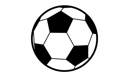 piktogramm: Pictogram - Soccer - Piktogramm - Fussball Stock Photo