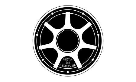 piktogramm: Pictogram - German Second Soccer League Trophy - Piktogramm - Meisterschale Deutsche Zweite Fussball Liga - Icon, Symbol