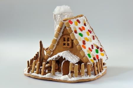 クリスマス ジンジャーブレッド ・ ハウス 写真素材