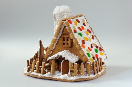 Christmas gingerbread house Stock Photo - 8758745