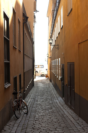 views of the historic center of Stockolm.
