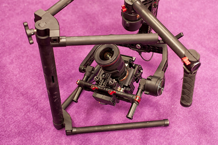 Professional digital video camera. accessories for 4k video cameras.