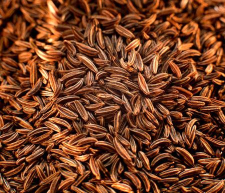 spices in the kitchen close-up on a dark background. Standard-Bild