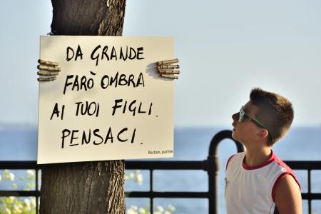 cartel: Environmental message - Taranto