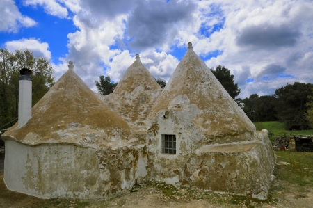 verandas: Alberobello - Trulli