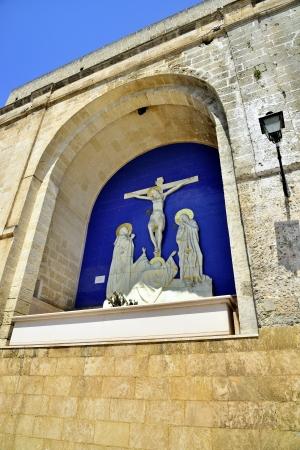 anforas: Grottaglie TA - especialmente Porta San Giorgio Foto de archivo