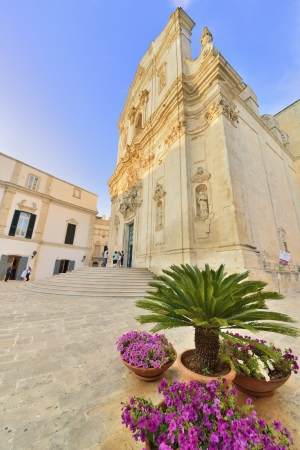 Martina Franca TA - Basilica di San Martino Stock Photo - 15176923