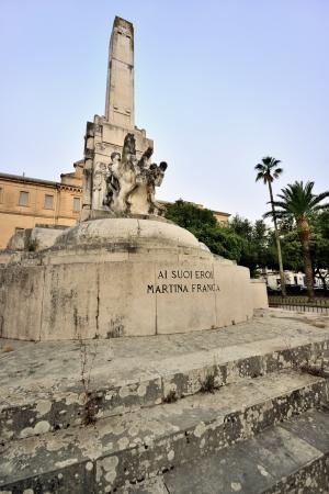friezes: Martina Franca - the war memorial