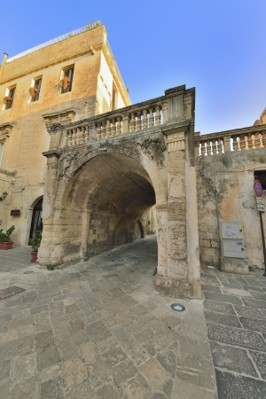 Lecce - a glimpse of the old town Stock Photo - 15494552