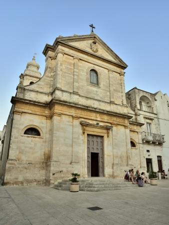 festival scales: Locorotondo BA - the Basilica